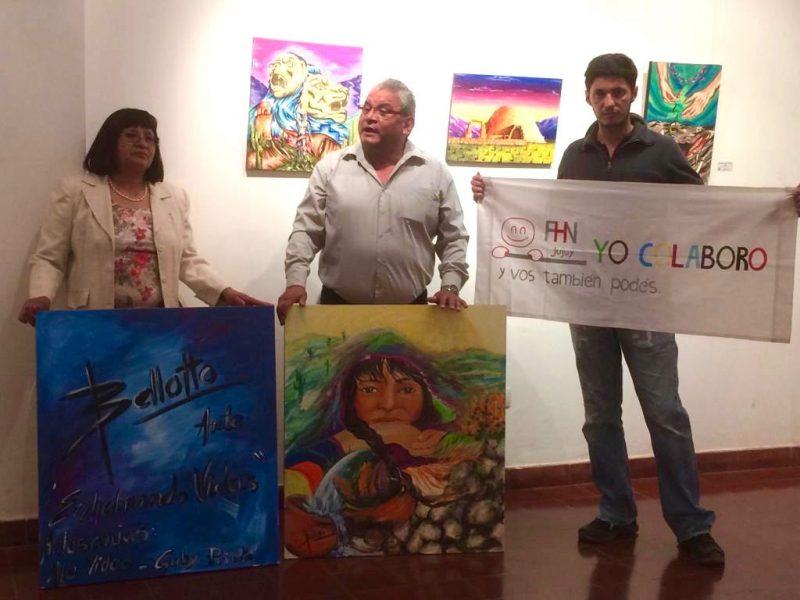 donacion de mariela belloto a la fundacion hospital de niños de jujuy