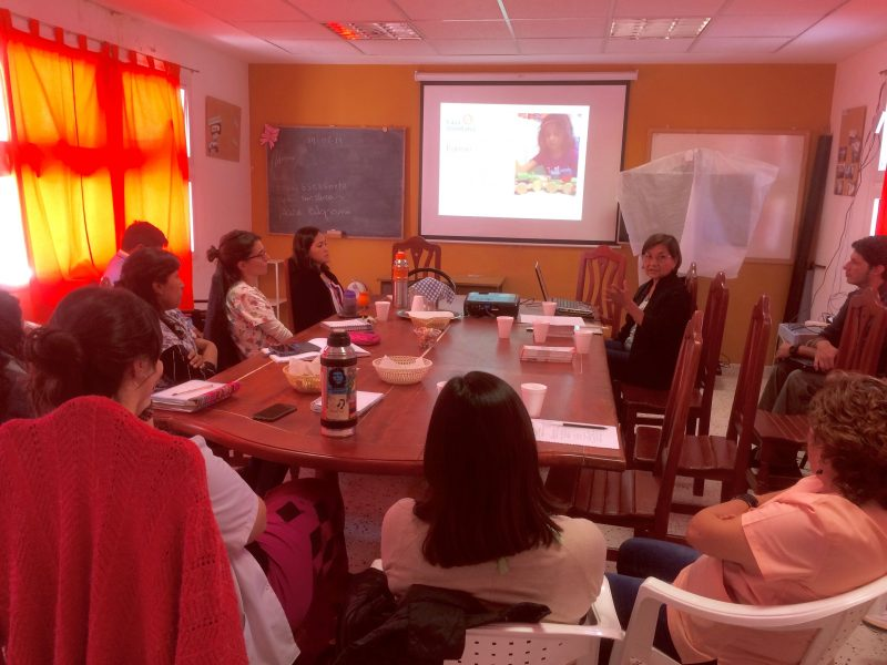 charla informativa en tilcara - fundacion hospital de niños de jujuy